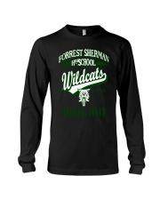 Forrest Sherman High School Naples Italy Wildcats Long Sleeve Tee thumbnail