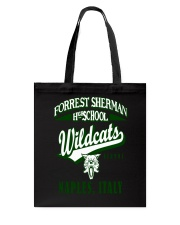 Forrest Sherman High School Naples Italy Wildcats Tote Bag thumbnail