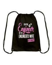 I'm The Engineer Drawstring Bag tile