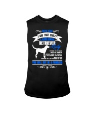 Beware I Am That Crazy Labrador Lady Sleeveless Tee tile