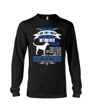 Beware I Am That Crazy Labrador Lady Long Sleeve Tee tile