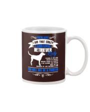 Beware I Am That Crazy Labrador Lady Mug thumbnail