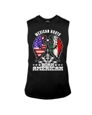 Mexican Roots Born American Sleeveless Tee thumbnail