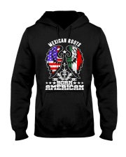 Mexican Roots Born American Hooded Sweatshirt thumbnail