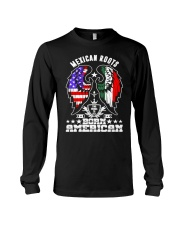Mexican Roots Born American Long Sleeve Tee thumbnail