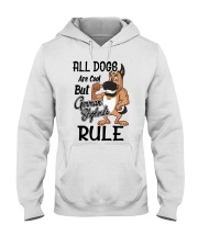 German Shepherd Hooded Sweatshirt front