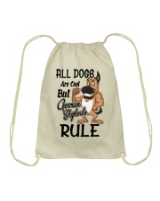 German Shepherd Drawstring Bag thumbnail