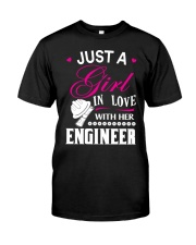 Just a girl in love with her engineer Classic T-Shirt thumbnail