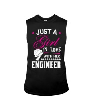 Just a girl in love with her engineer Sleeveless Tee thumbnail