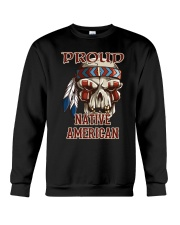 Proud Native American Crewneck Sweatshirt thumbnail