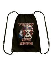 Proud Native American Drawstring Bag thumbnail