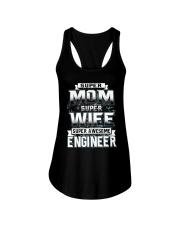 Super Mom Ladies Flowy Tank thumbnail