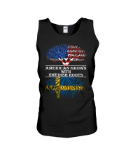 American Grown With Swedish Roots Unisex Tank thumbnail