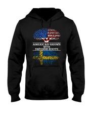 American Grown With Swedish Roots Hooded Sweatshirt thumbnail