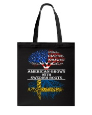 American Grown With Swedish Roots Tote Bag thumbnail