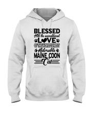 Maine Coon Love Hooded Sweatshirt front
