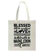 Maine Coon Love Tote Bag thumbnail