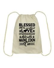Maine Coon Love Drawstring Bag thumbnail
