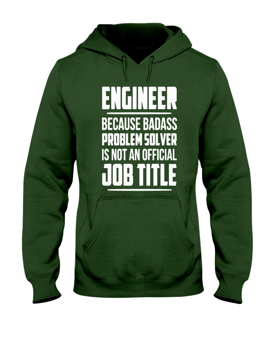 ENGINEER TEE Hooded Sweatshirt