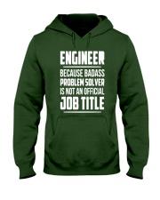 ENGINEER TEE Hooded Sweatshirt front