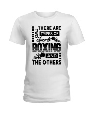 Sports Boxing And The Others Ladies T-Shirt thumbnail