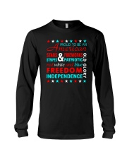 Proud To Be An American Long Sleeve Tee thumbnail