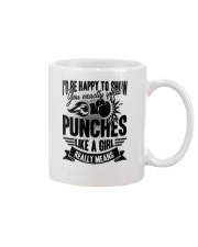 Boxing Puches Like A Girl Mug thumbnail