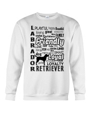 Labrador Retriever Friendly Crewneck Sweatshirt thumbnail