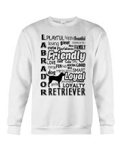 Labrador Retriever Friendly Crewneck Sweatshirt thumbnail