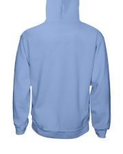 Labrador Retriever Friendly Hooded Sweatshirt back