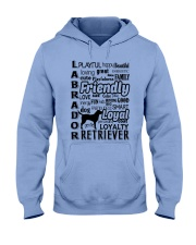 Labrador Retriever Friendly Hooded Sweatshirt front