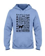 Labrador Retriever Friendly Hooded Sweatshirt front