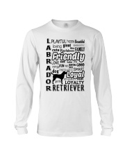 Labrador Retriever Friendly Long Sleeve Tee thumbnail