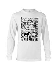 Labrador Retriever Friendly Long Sleeve Tee thumbnail