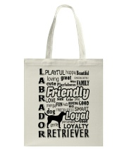 Labrador Retriever Friendly Tote Bag thumbnail