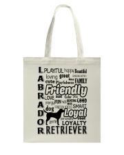 Labrador Retriever Friendly Tote Bag thumbnail