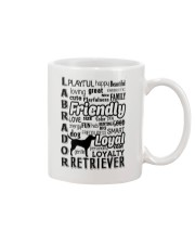 Labrador Retriever Friendly Mug tile