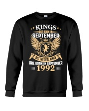 Legends Are Born In September 1992 Crewneck Sweatshirt thumbnail
