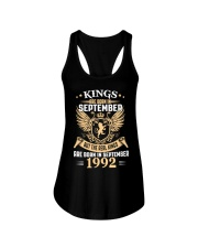Legends Are Born In September 1992 Ladies Flowy Tank thumbnail