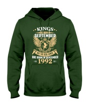 Legends Are Born In September 1992 Hooded Sweatshirt front