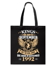 Legends Are Born In September 1992 Tote Bag thumbnail