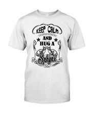 Hug A Sphynx Cat Classic T-Shirt thumbnail