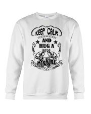 Hug A Sphynx Cat Crewneck Sweatshirt thumbnail