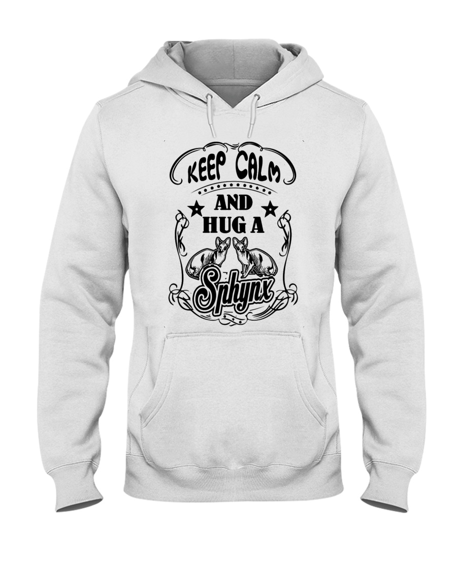 Hug A Sphynx Cat Hooded Sweatshirt