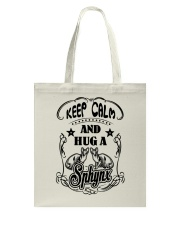Hug A Sphynx Cat Tote Bag tile