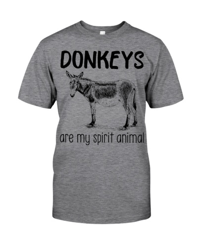 Donkeys are my spirit animal