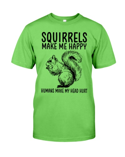 Squirrels make me happy