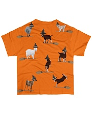 Halloween-Goats All-over T-Shirt back