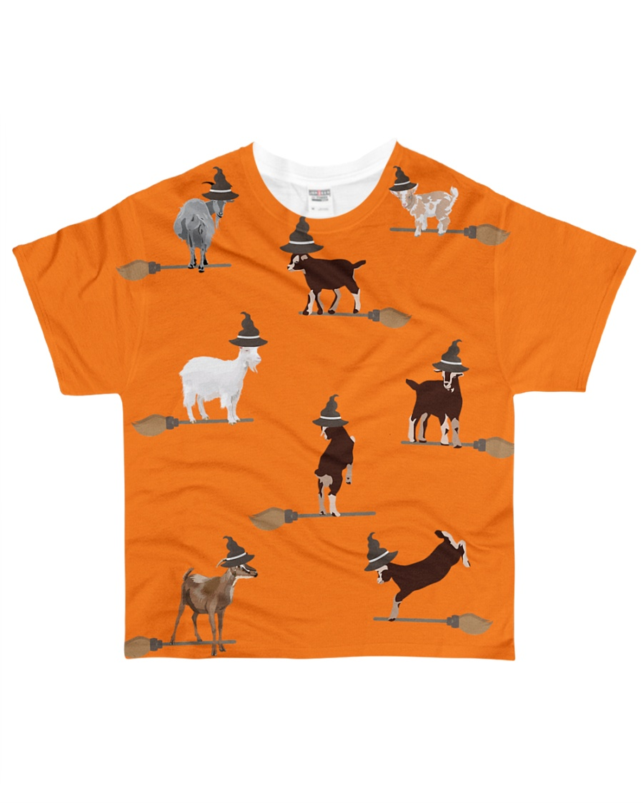 Halloween-Goats All-over T-Shirt