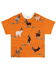 Halloween-Goats All-over T-Shirt front